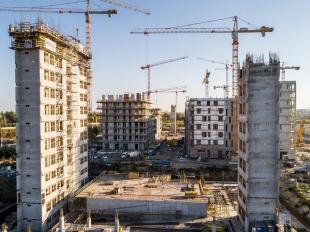A BudaPart épületeiből már kezd kirajzolódni az új városnegyed térképe + VIDEÓ